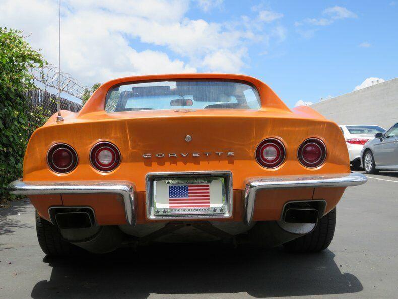 1973 Orange Chevrolet Corvette   | C3 Corvette Photo 8