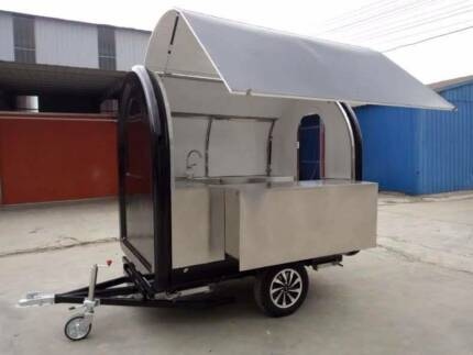 NEW STYLE COFFEE, FOOD CART TRAILER