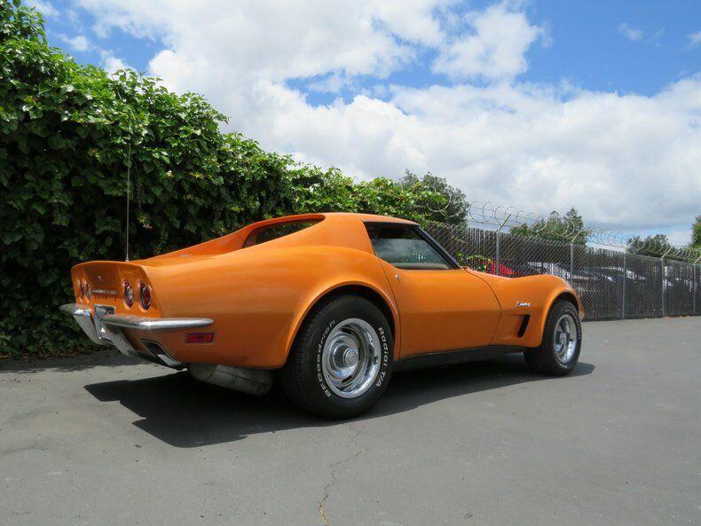 1973 Orange Chevrolet Corvette   | C3 Corvette Photo 6