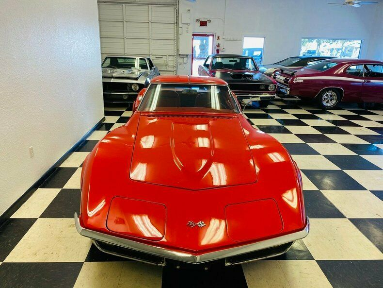 1970 Red Chevrolet Corvette   | C3 Corvette Photo 8