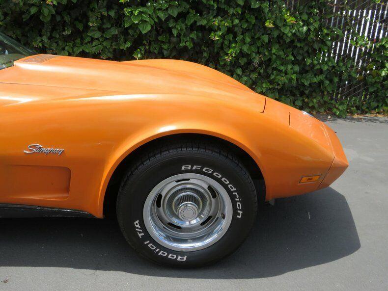 1973 Orange Chevrolet Corvette   | C3 Corvette Photo 10
