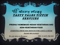 Tasty Tales Tiffin Services