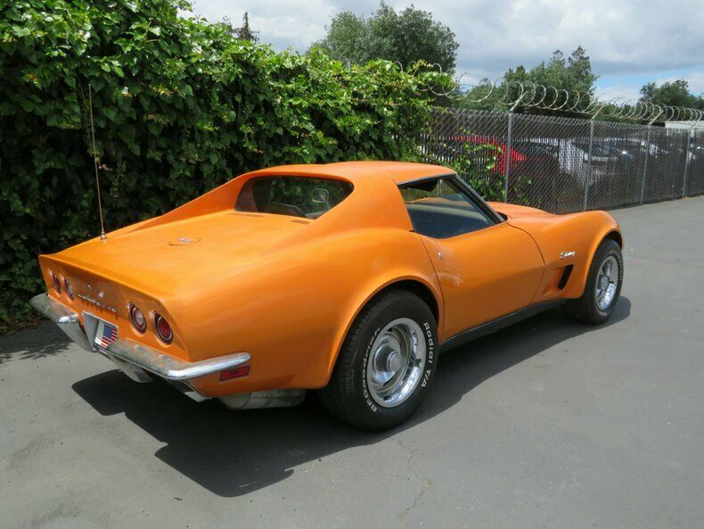 1973 Orange Chevrolet Corvette   | C3 Corvette Photo 7