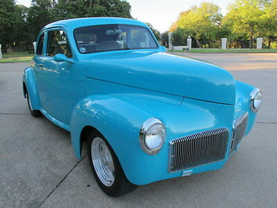 1941 Studebaker Champion : 1941 Studebaker Champion, chevy v-8, automatic, front disc brakes, p/s, A/C