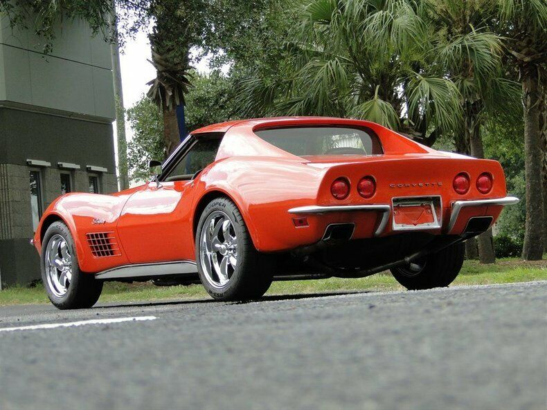 1971 Orange Chevrolet Corvette   | C3 Corvette Photo 8