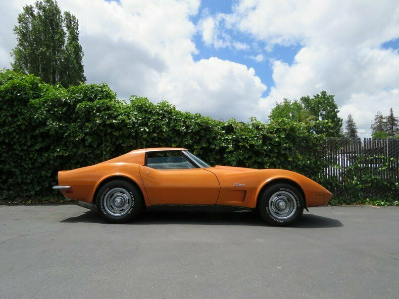 1973 Orange Chevrolet Corvette   | C3 Corvette Photo 5