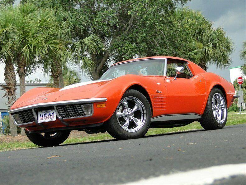 1971 Orange Chevrolet Corvette   | C3 Corvette Photo 2