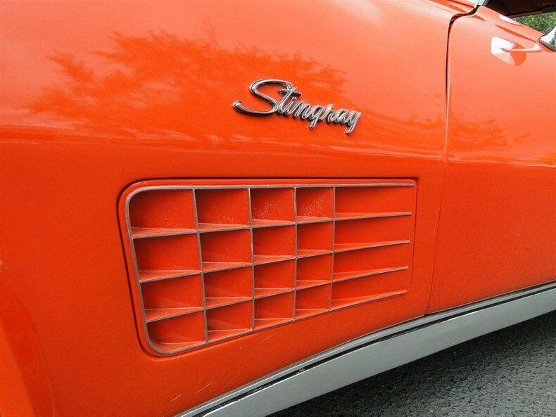1971 Orange Chevrolet Corvette   | C3 Corvette Photo 5