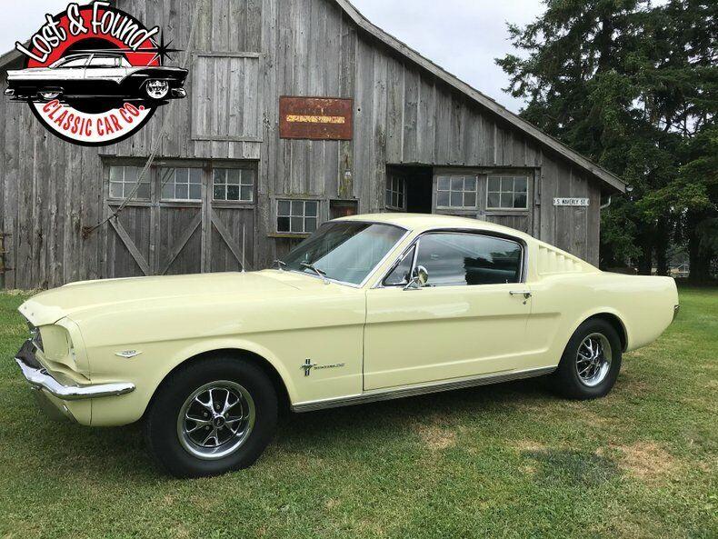 1966 Ford Mustang Fastback 2 2 Ebay