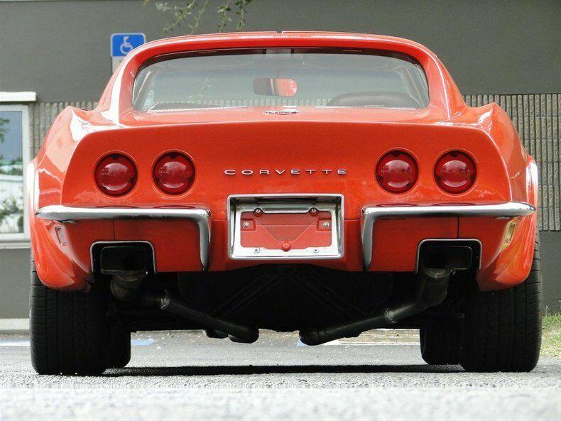 1971 Orange Chevrolet Corvette   | C3 Corvette Photo 9