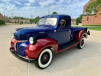 1946 Dodge Other Pickups  1946 Dodge 3/4 Ton Pickup  Blue & Red Pickup Truck - Over the top build