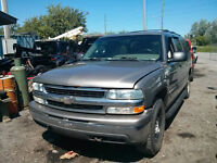 2001 suburban for parts