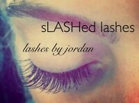 sLASHed Lashes, Lash Extensions by Jordan