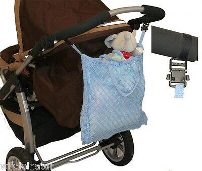 Clippi Kinderwagennetz Einkaufstasche Buggy Netztasche Shopper Tasche Einkauf