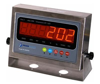 Scale Indicator Readout Stainless Steel Led Large Display Ntep New