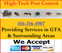 High-Tech Pest Control, Rats, Mice,Roaches, Ants, Bedbugs & more