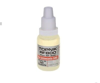 Liquid Soldering Flux For Smd Components No Clean Rosin Based 15 Ml