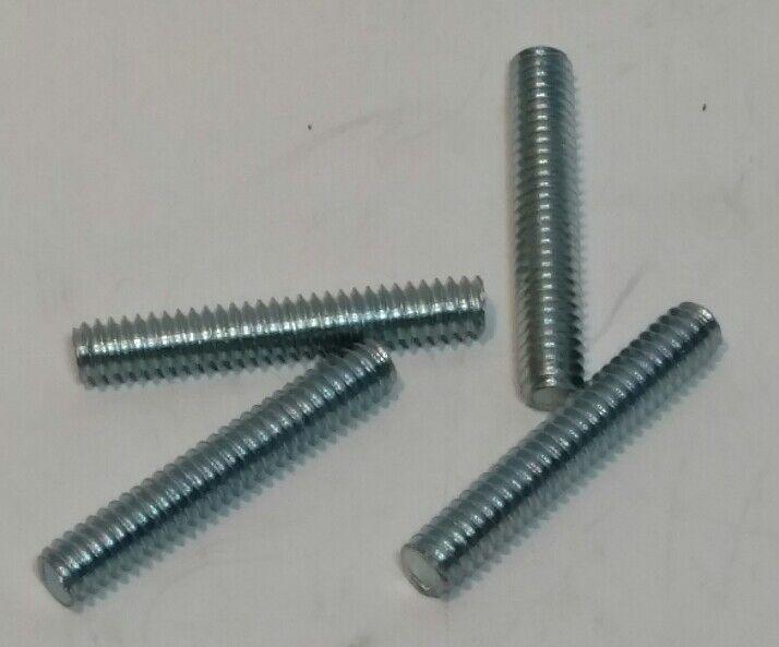 "Threaded Stud, Zinc, 1/4-20 x 1-1/2""   2 LBS  (+/- 135)"