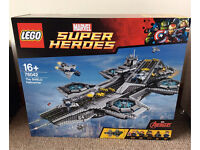 Lego Marvel Supper Heroes Avengers The Shield Hellicarrier 76042