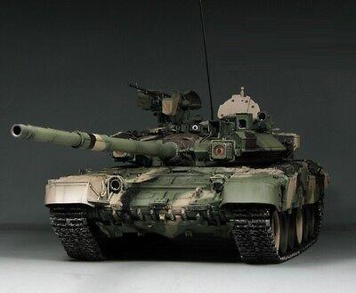 Award Winner Built MENG 1/35 T-90 Main Battle Tank+PE+Working Parts+More