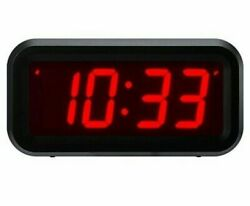 Timegyro Small Wall/Shelf/Desk Digital Clock Only Battery Operated