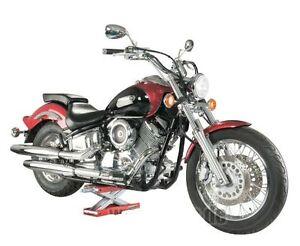 sollevatore cavalletto alza moto harley davidson custom