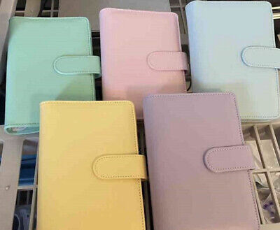 Loose -leaf-ring-binder-notebook 7.5 X 5 X 2 - 6 Ring W Magnetic Closure