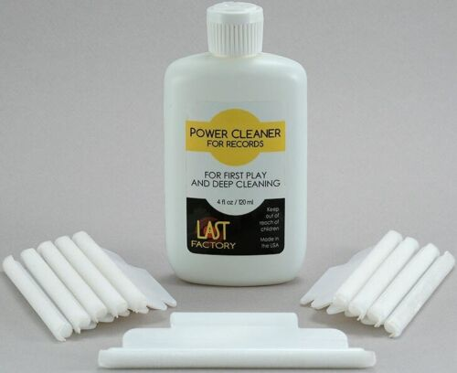 LAST FACTORY PPC 4oz Power Cleaner-Removes Pressing Residue from Records