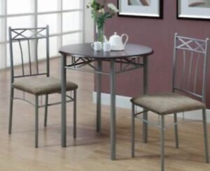 Dining table with two chair