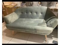 2 seater loveseat cuddle chair