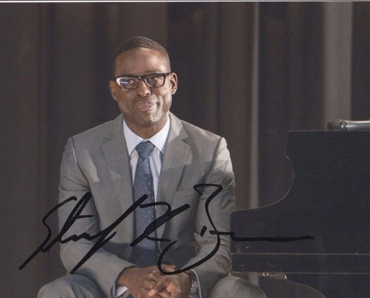 Sterling K Brown This is Us Autographed Signed 8x10 Photo COA #3