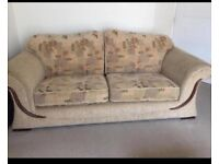 Two Three seater sofas in good condition