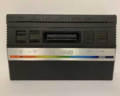 ORIGINAL Atari 2600 Jr. RAINBOW MINI Console Only - TESTED - 100% WARRANTY
