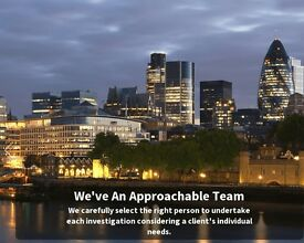 Private Investigator in London and Home Counties - From £30 per hour - strictly confidential