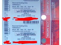 Beyoncé and Jay Z tickets x 2 13th June Manchester