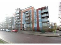 Stunning 1 bedroom flat, furnished with balcony, 24 porter in Farnsworth Court,West Parkside, London