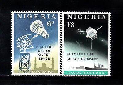 VN97 NIGERIA #143-4 STAMPS M OG NH BUY 4 - 40 STAMP LOTS & PAY $3.00 S&H MAXIMUM