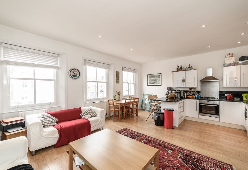 Modern 3 bed overlooking Brixton - £550pw
