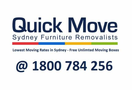 QUICK MOVE - CHEAP FURNITURE REMOVALS IN SYDNEY Sydney Region Preview