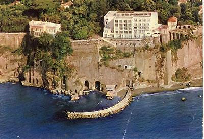 HOTEL PARCO DEI PRINCIPI SORRENTO NAPOLI VIAGGIATA 1972