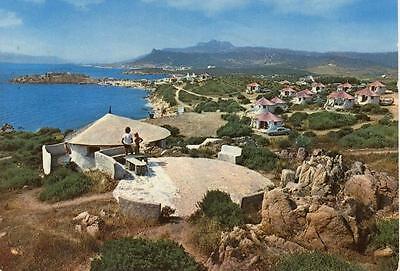 ARZACHENA CAMPING L'ISULEDDA SASSARI VIAGGIATA 1975