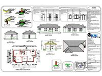 AutoCAD design work, freelancer, mechanical or buildings drawings