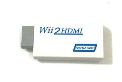 WII2HDMI 1080P HD Video Audio Adapter Wii zu HDMI Konverter FullHD 1080 gebraucht kaufen  Neuwied