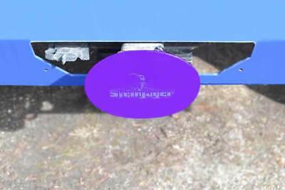 Fits Jeep Wrangler CJ YJ TJ LJ JK JL Sinbad Purple Towing Hitch Covers Made in