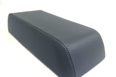 Fits 90-94 Mitsubishi Eclipse Synthetic Leather Armrest Console Cover Gray