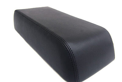 Console Armrest Leather Synthetic Cover for Mitsubishi Eclipse 90-94 Black