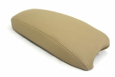 Center Console Armrest Real Leather Cover for Chevrolet Blazer 98-04 Beige