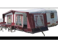 Pyramid Corsican 900 Caravan Awning with Steel Frame