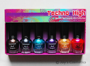 1-KLEANCOLOR-Techno-High-Metallic-Nail-Lacquer-Mini-Collection-NPC-592-Joys