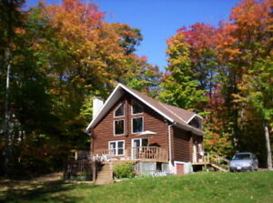 Log Cottage at Twin Lakes St. Joseph Island (also for sale)